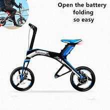 X1 electric super long range 48 v lithium-ion batteries bicycle suspension car disc brake folded car instead of walking