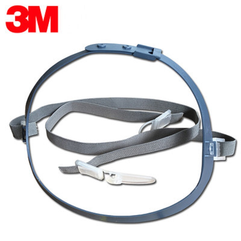 3M 7581 Headband Work With 7502/7501/7503 Mask Accessories Anti-dust Masks Adjustable Wearing Spandex Woven Elastic Rubber Band