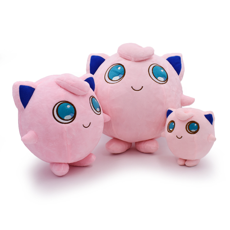 2018 Free Shipping Cute 6 9 13 Anime Cartoon Jigglypuff 3 Size Soft Stuffed Toys Plush Doll Gift for Children 14cm 23cm 32cm plush ocean creatures plush penguin doll cute stuffed sea simulative toys for soft baby kids birthdays gifts 32cm