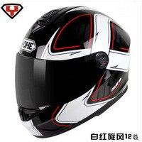 2017 Fashion YOHE Full Face Motorcycle Helmet ABS Motocross Full Cover Motorbike Helmets Model YH 966