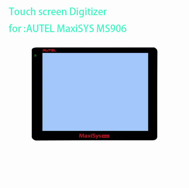 US $74 0 |New touch screen panel Digitizer Glass Sensor sensor replacement  for AUTEL MaxiSYS MS906 MS906TS MS908 MS908p TS BT PRO-in Tablet LCDs &