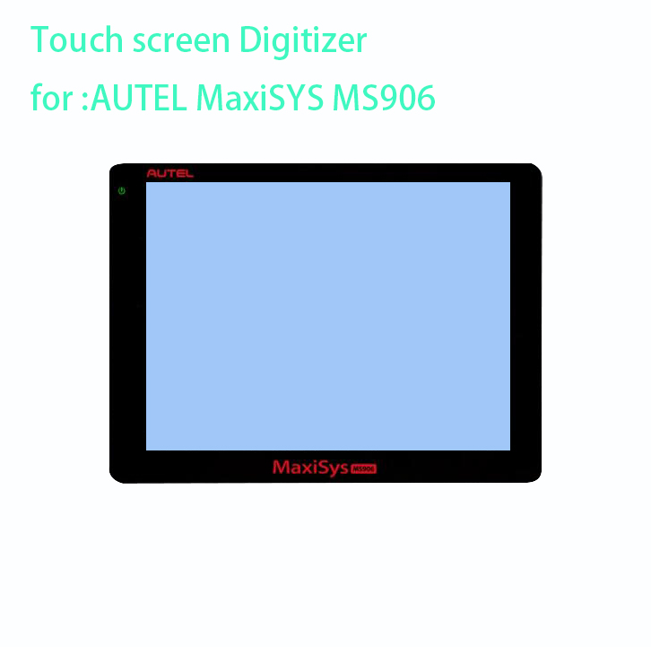 New touch screen panel Digitizer Glass Sensor sensor replacement for AUTEL MaxiSYS MS906 MS906TS MS908 MS908p TS BT PRO