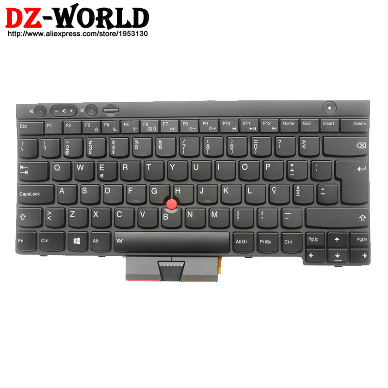 New Original for Thinkpad T430 T430i T430S T530 T530i W530 Backlit Keyboard Portuguese Backlight Teclado 04X1375 04X1262 0C02056 цена