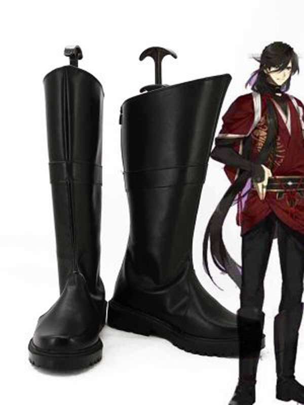Touken Ranbu Online Uchigatana Izuminokami Kanesada Game Cosplay Boots Men Cosplay Costume Party Shoes Custom Made Boots