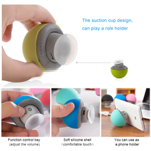 Mini Wireless Bluetooth Speaker MP3 Music Player with Mic Waterproof Portable Stereo Bluetooth Mushroom Speaker For Phone PC