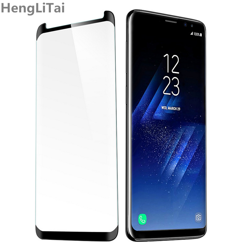 for Samsung Galaxy S9 tempered glass for Samsung Galaxy S9 Plus screen protector film 3D full adhesive cover S 9 protection