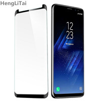 for Samsung Galaxy S9 tempered glass for Samsung Galaxy S9 Plus screen protector film 3D full adhesive cover S 9 protection|protector film|film protector|full cover -