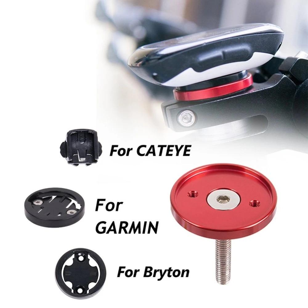 For Cat Eye Stem Top Cap For Bryton GPS Mount Bracket MTB Road bike For Garmin