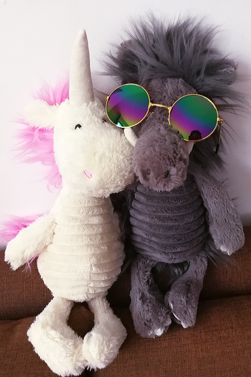 30CM 2017 Fresh Plush Unicorn Horse Stuffed Animals Toys Baby Infant Girls Toys Birthday Gift Rainbow Dash Unicorn doll