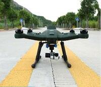 Профессиональные антенны разведки Радиоуправляемый Дрон T50 FPV 7 дюймов дисплей Quadcopter Дрон с 3 оси Gimbal RTF 10000 мАч батареи