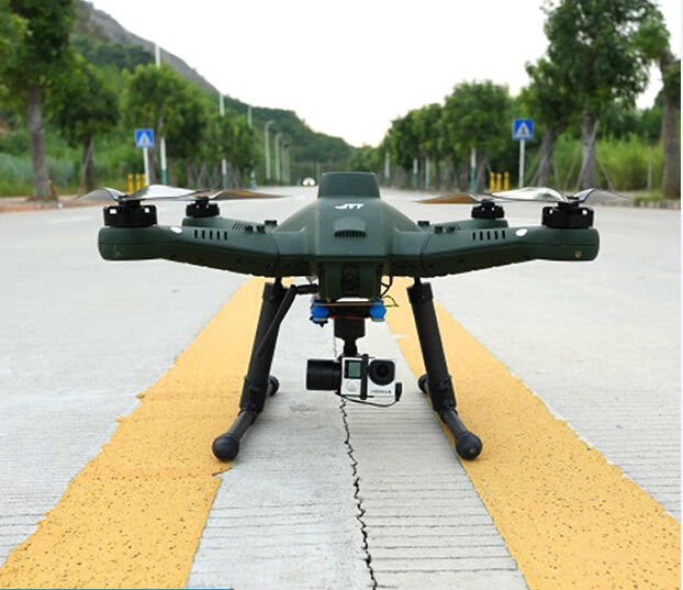 professional aerial intelligence RC drone T50 FPV 7 inch display Quadcopter Drone with 3 Axis Gimbal RTF 10000mAh battery