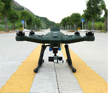Profesional udara intelijen T50 RC drone Quadcopter Drone dengan 3-Axis Gimbal RTF FPV 7 inch display 10000 mAh baterai
