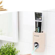 Multifunctional Toothpaste Squeezer Tube Dispenser Adhesive Toothbrush Holders for Home Children