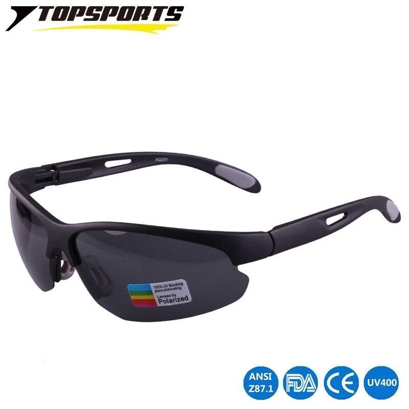 TOPSPORTS Polarisées Vélo lunettes de Soleil Vélo vélo Lunettes Lunettes  UV400 yeux Conduite de protection PC lentille 5ee7fc67c81a