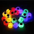 2M 4.5V 3W 20-LED Battery Operated Eyeball LED String Lights for Halloween (Multicolor)