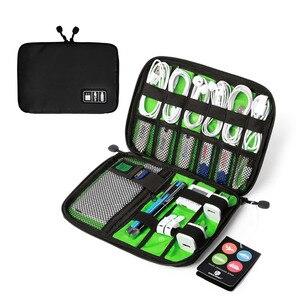 Image 3 - BAGSMART Acessórios Eletrônicos Saco de Embalagem Para O Carregador de Telefone Cabo Data USB Cartão SD Para Colocar Na Mala de Viagem Organizar