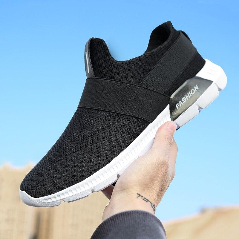 Black Sneakers gray Lumière Ultra Casual Respirant Chaude Hommes Vente Maille white Chaussures D'été SFRxac