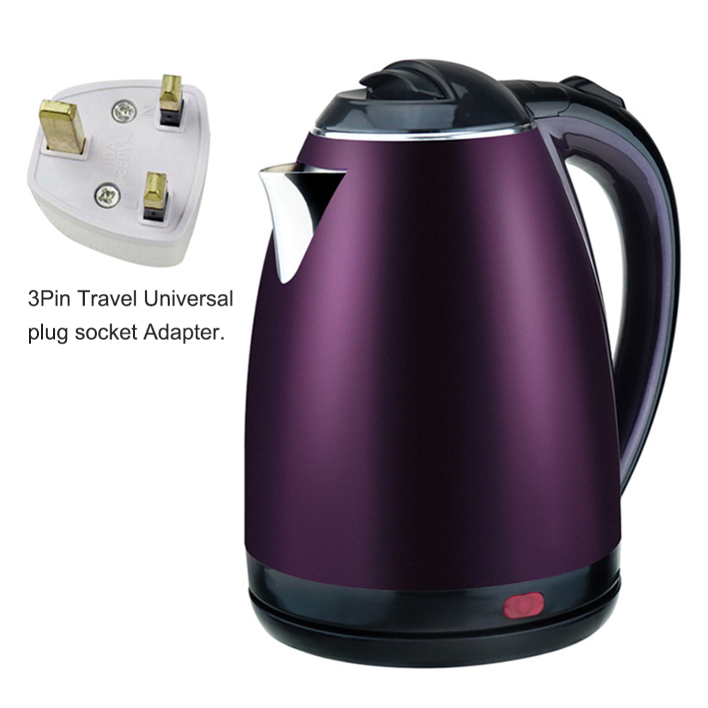 2L Electric Kettle Stainless Steel Electric Auto Cut Off Anti-dry Protection Kettle Home Electric Appliances
