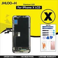 10 sztuk/partia AAA + + + dla iPhone X XR XS MAX wymiana ekranu z OLED zgromadzenie wyświetlacz LCD nie martwy piksel