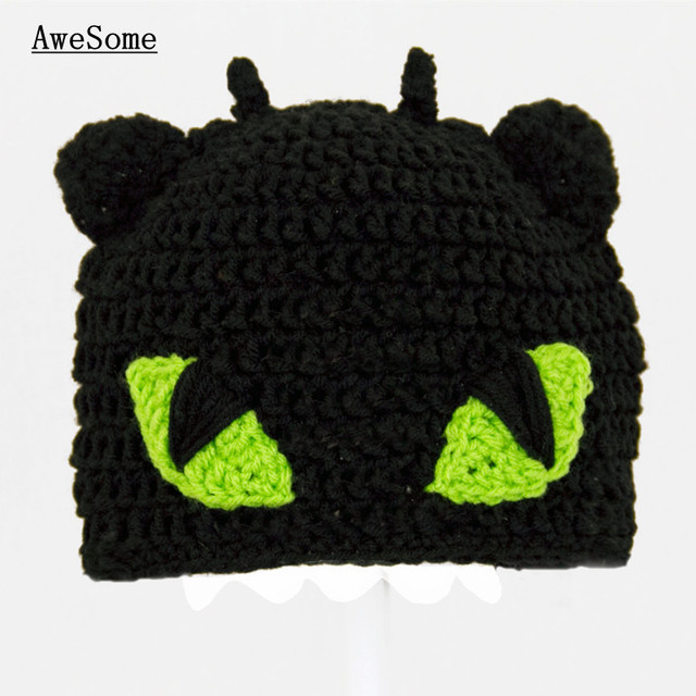 Free Shipping Toothless Hat From How To Train Your Dragoncrochet