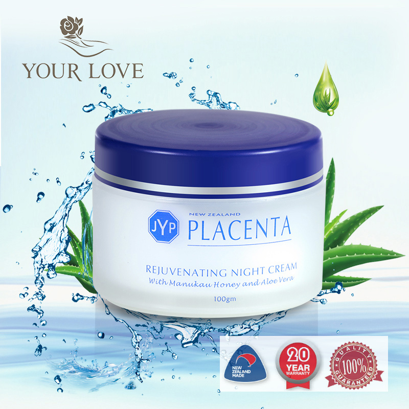 NewZealand JYP Sheep Placenta Rejuvenating Night Cream Face Moisturizing Reduce wrinkles Anti age Skin Cream Smooth