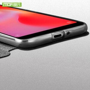 Image 5 - מקורי MOFi לxiaomi Redmi 6A מקרה Redmi 6 TPU עור Flip כיסוי עסקי מקרה סיליקון להגן על יוקרה עבור Redmi 6 פרו מקרה