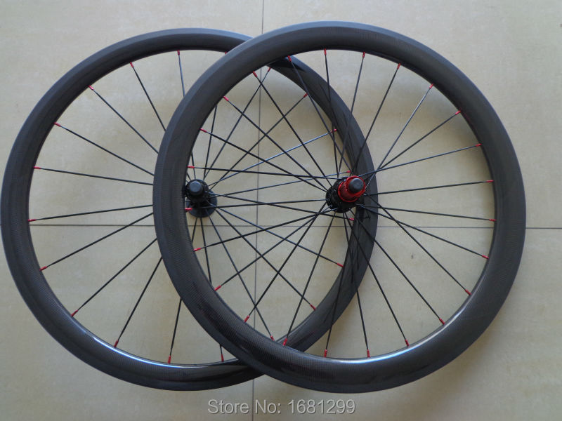 Newest 700C front 38mm+rear 50mm tubular rims Road bicycle 3K 12K UD full carbon fibre bike wheelsets aero spokes Free shipping carbon wheels 700c 88mm depth 25mm bicycle bike rims 3k ud glossy matte road bicycles rims customize carbon rims