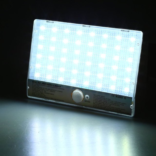 Professinal 48 LEDs Zonne energie Bewegingssensor Lamp Menselijk ...