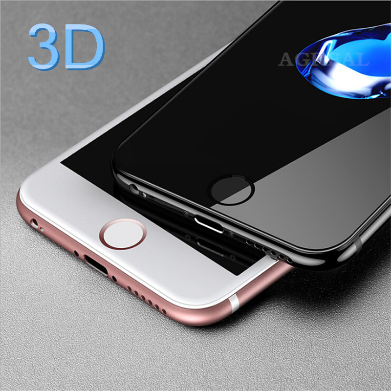 Image 3 - 3D Curved Carbon Fiber Soft Edge Tempered Glass on iPhone 6 6s 7 8 Plus Screen Protector Film For iPhone 7 X XS Full Cover glass-in Phone Screen Protectors from Cellphones & Telecommunications