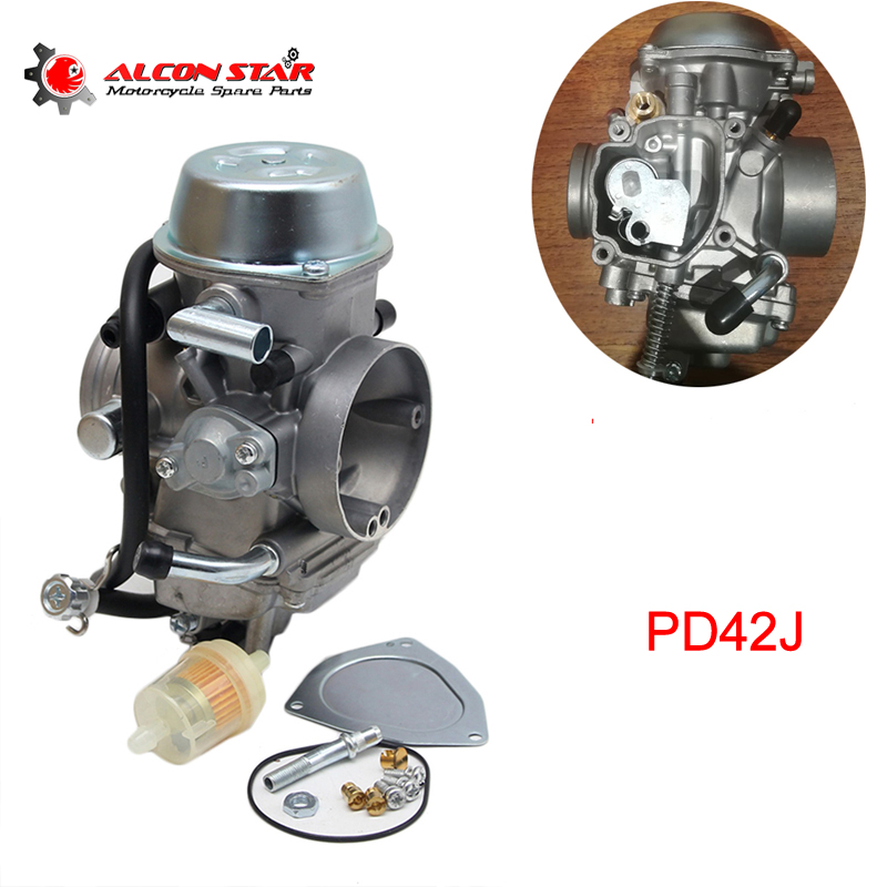 Alconstar PD42J Motorcycle Carburetor for Hisun 500CC 600CC 700CC HS500 HS700 ATV for Polaris Predator 500
