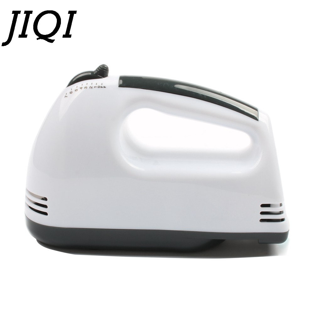 JIQI Electric Hand Mixer with 7 level speed Made of ABS and Stainless Steel for Blending and Whisking 5