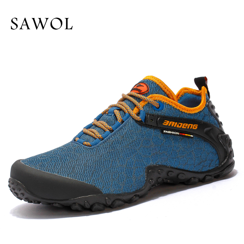 Sawol Men Sneakers Brand Men Casual Shoes Men Shoes Breathable High Quality shoes Plus Big Size Men Flats Lace up Spring Autumn high quality men golf shoes men spring and autumn breathable men shoes 5 colors professional training shoes