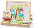 Является, Дети в образовательный игрушки, Магнитный пазл, Город дети подарки, 3d-пазл