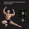 Novo Sem Fio de Multi-Função EMS treinamento abdominal Dispositivo Hous músculos abdominais treinamento intensivo de Perda de Emagrecimento Massageador