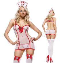 Adult Sex Products Sexy Lingerie White Nurse Costumes Role Play,See Through Sexy Costumes For Female,Sex Games,Flirting,Cosplay