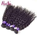 4 bundles eurasia pelo virginal productos Para el cabello Ruiyu waterwave suave paquetes de pelo eurasiático virgen barato remy armadura del pelo humano