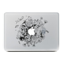 Luar angkasa planet Vinyl Decal Sticker untuk New Macbook Pro/Udara 11 13 15 Inch Laptop Kasus Cover Sticker(China)