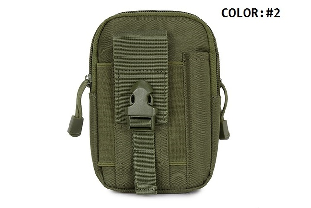 Camo Style First Aid Kit Wilderness Safe Survival Rescue Bag Utility Medical Gadget Belt Waist Bag