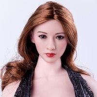 1 6 Asian Star Head Sculpt Blonde Hair Similiar To Jingtian Headplay Fit Female Phicen Doll