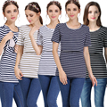 Emoção Mães Maternidade de manga Curta Roupas De Enfermagem amamentação tops para As Mulheres Grávidas gravidez Maternidade Maternidade de verão T-shirt