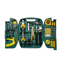 1 Set 27pcs Repair Tool Maintain Set Steel Combination Tool Kit Tape Measure Screwdriver Hammer Pliers стоимость