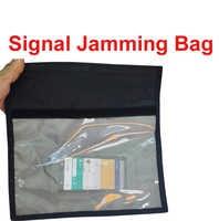 抗スキャンカードスリーブ ok のための 6-10 の電話機能アンチトラッキングバッグ & 信号アイソレータバッグ放射線ブロッカー放射線ジャマー