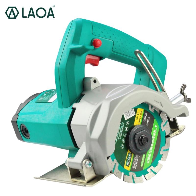 Nuevo producto LAOA 1600W Máquina de corte eléctrica Sierra eléctrica para cortar madera, mármol, ladrillo, hormigón