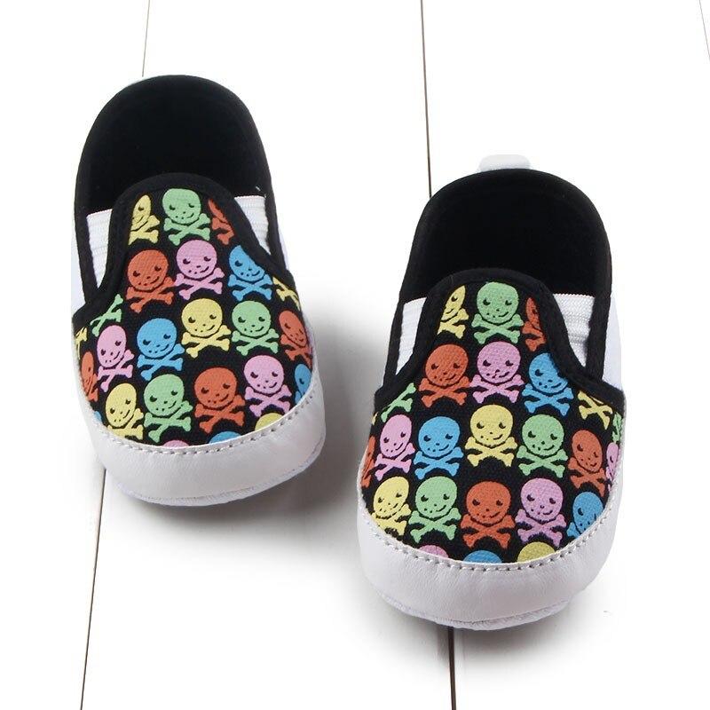 2017 Newborn Infant Baby Boy Girl Toddler Shoes Kid Soft Sole Anti-Slip Prewalker Shoes 0-12M Hot For Toddler Girls