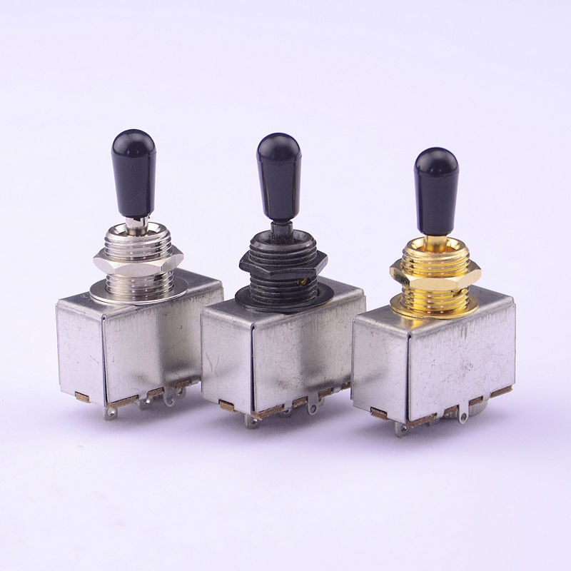 1 Piece GuitarFamily 3-way Electric Guitar Pickup Selector Toggle Switch  ( #0609 ) MADE IN KOREA