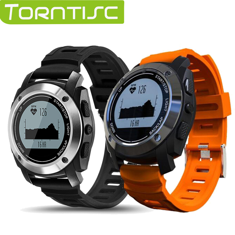 Torntisc S928 GPS Outdoor Sports Smart Watch IP66 Life Waterproof with Heart Rate Monitor Pressure for