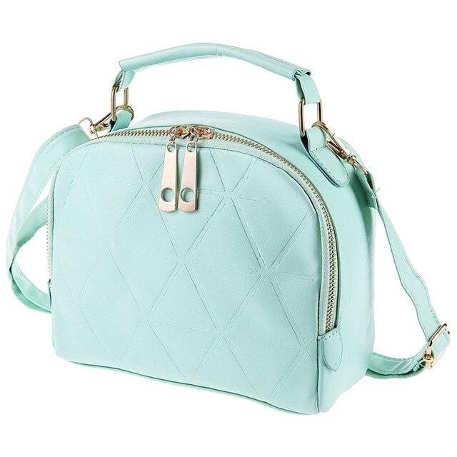 Solid Color Split Zipper Design Multifunctional Handbag Single Shoulder Bag for Ladies