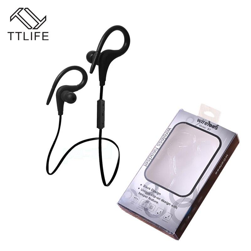 TTLIFE Sport Running Wireless Auriculares Bluetooth 4.1 Earphone CVC 6.0 Noise Cancelling Headphone with Mic fone de ouvido