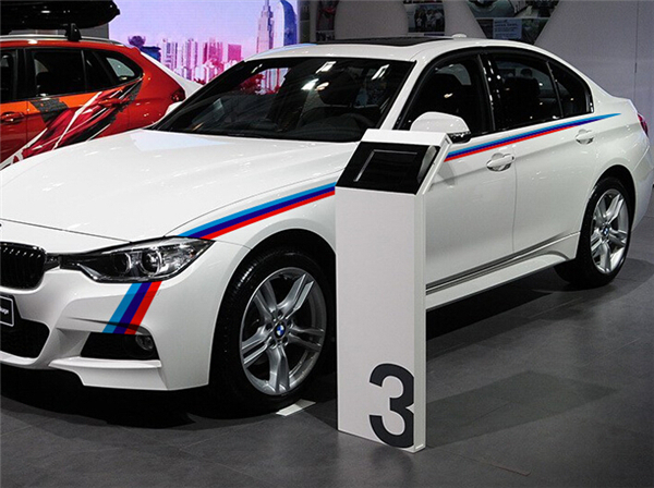 Aliexpresscom  Buy Three Color Side Skirts Vinyl Decal Sticker - Bmw vinyl stickers