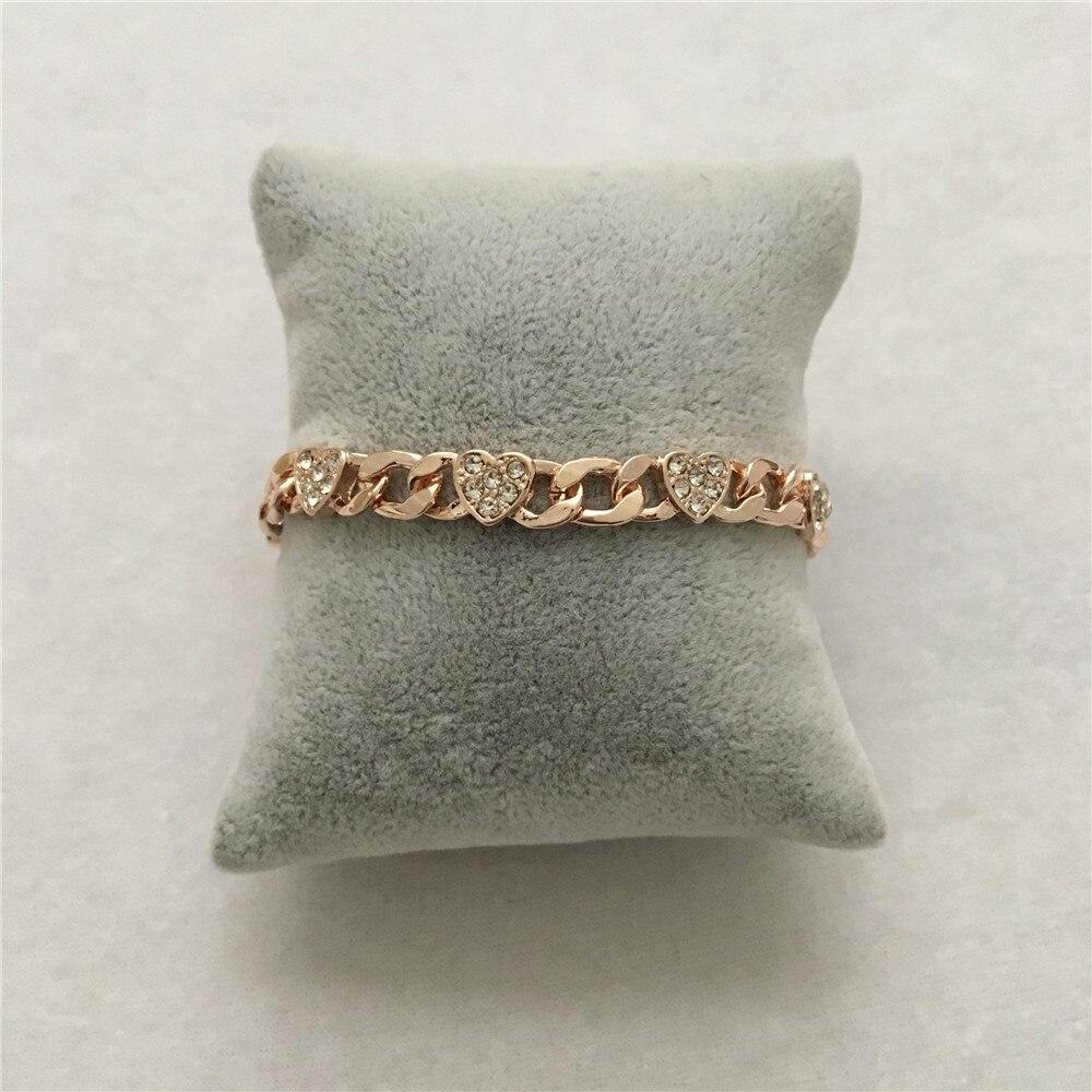 hear chain braceleet rosegold